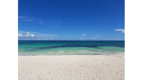 Beautiful Shades of Caribbean Blues