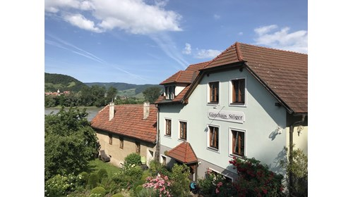 An image from Durnstein, Austria along the Danube