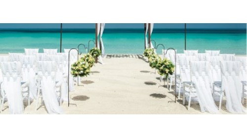 Sandals Beach Wedding