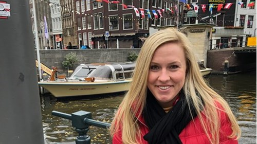 Day excursion in Amsterdam - touring the canals.