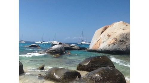 The Baths of British Virgin Islands