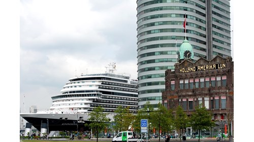 Koningsdam in Rotterdam near the first HAL office
