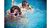 Children Swimming on Family Cruise Vacation