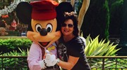 Mickey and Jan - Disneyland