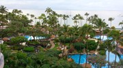 View from my room at the Westin Maui