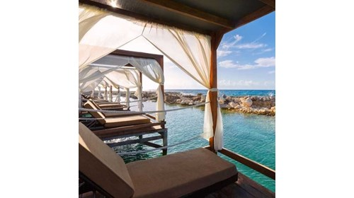 Book + Cabana + Sun + Drink - Amazing!