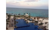 Hyatt Ziva in Cancun at Sunset