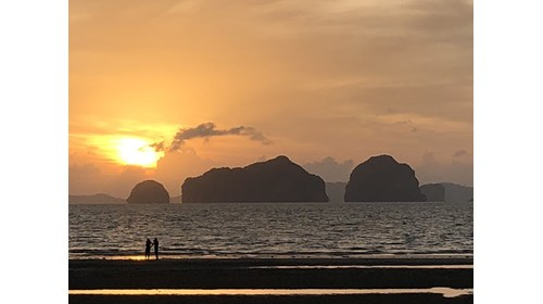 Sunset at one of my favorite spots in Krabi