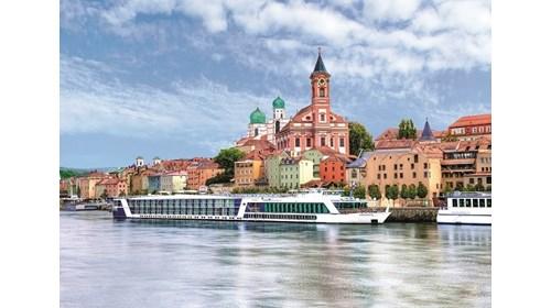 Danube River Cruise in Passau, Germany