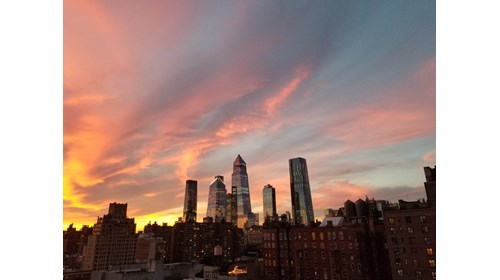 Hudson Yards and Chelsea from my Rooftop