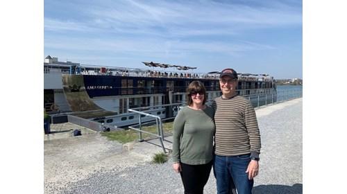 Joe & Sally Lang AmaWaterways On The Rhine River