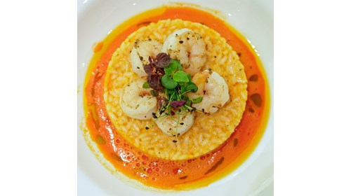 Italian Risotto with Shrimp