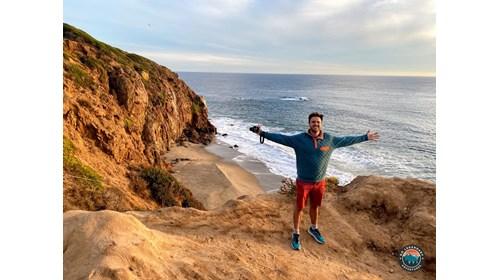 Derek in Malibu at Point Dume