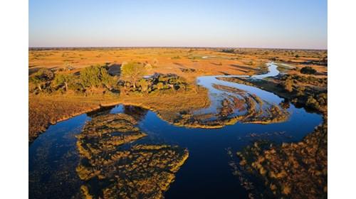 The Okavango Delta in Botswana