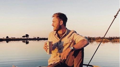 Sunset boating on the Selinda Spillway - May 2021