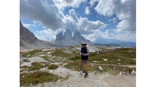 Hiking the Dolomite Mountains in Italy