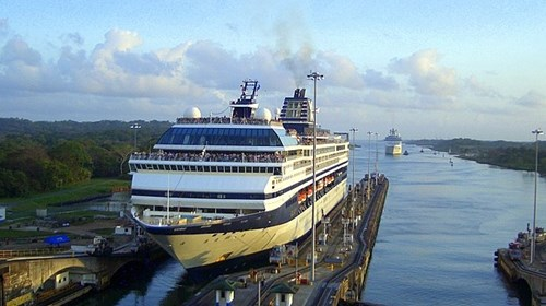 Panama Canal cruise on Celebrity