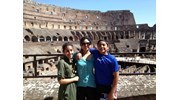 Mom and Kids in Rome
