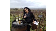 Sonia Enjoying the Bordeaux Vineyards