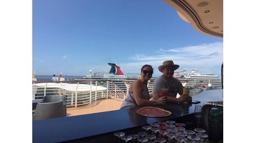 Aboard A Disney Cruise