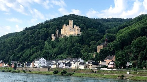 Panoramic View Along the Rhine