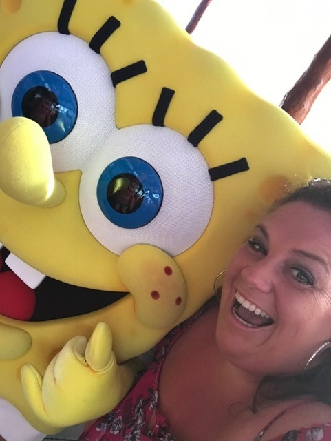 Let's take a selfie SpongeBob!!