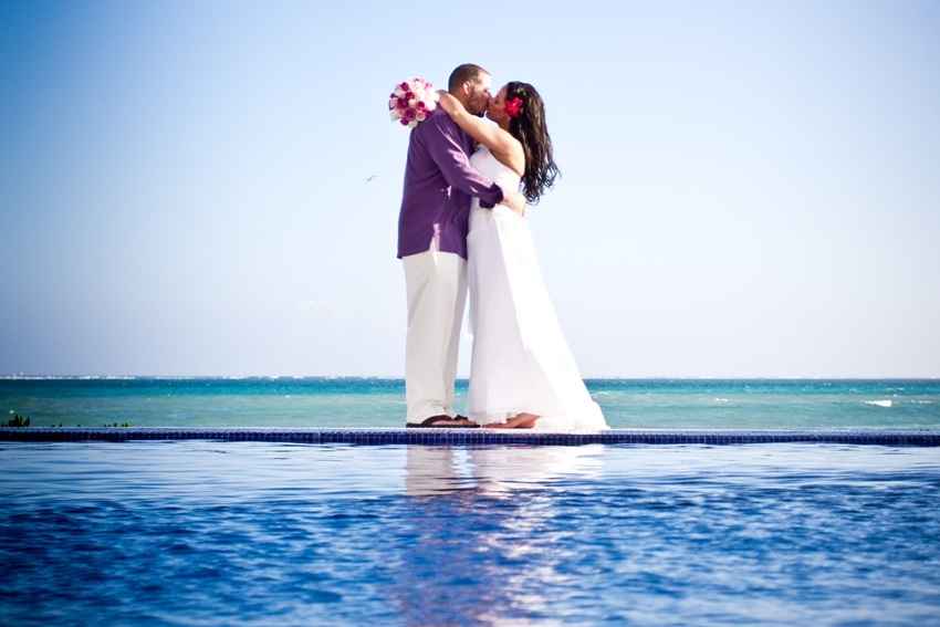 Wedding at Secrets Silverdands in Riviera Maya