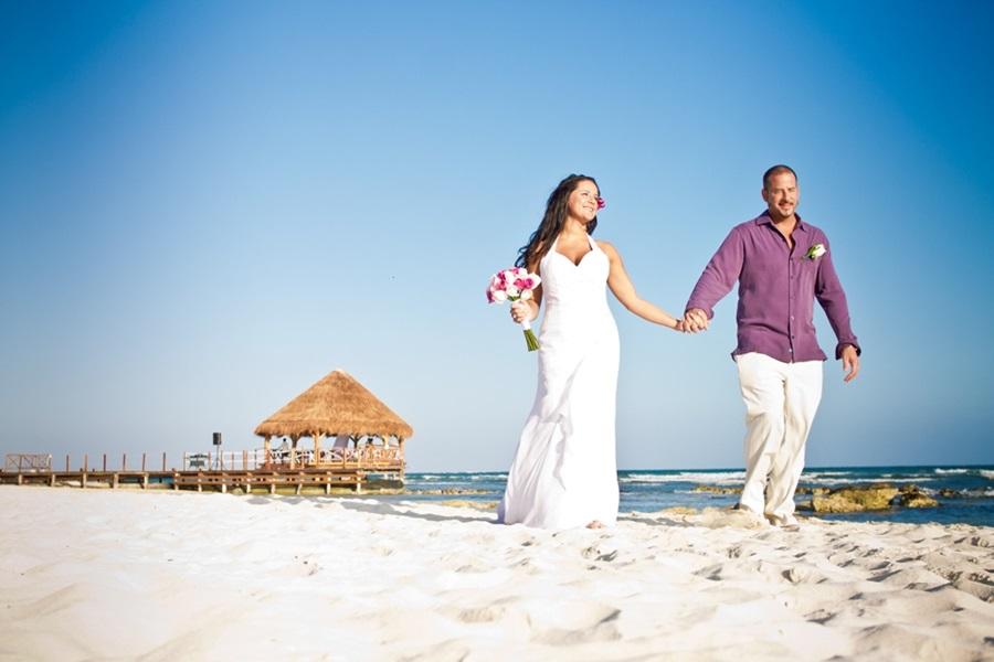 Wedding at Secrets Silversands in Riviera Maya