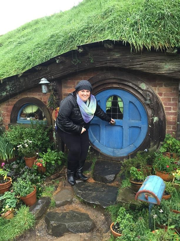 My favorite pic from the tour at Hobbiton