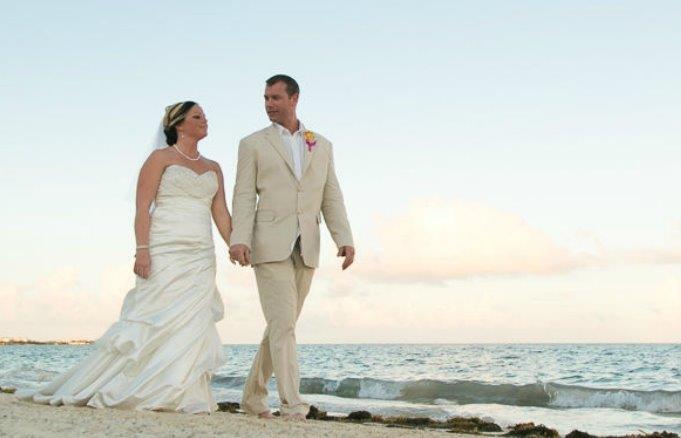 Sean and Katrina destination wedding Now Sapphire