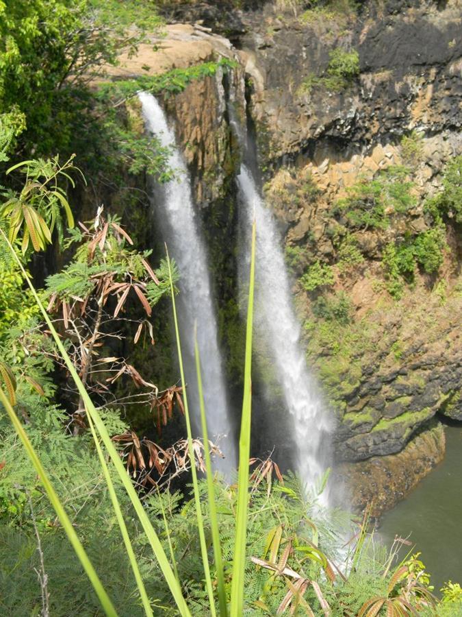 Fantasy Island, waterfall, Kauai
