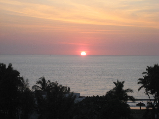 Sunsets are best from Puerto Vallarta