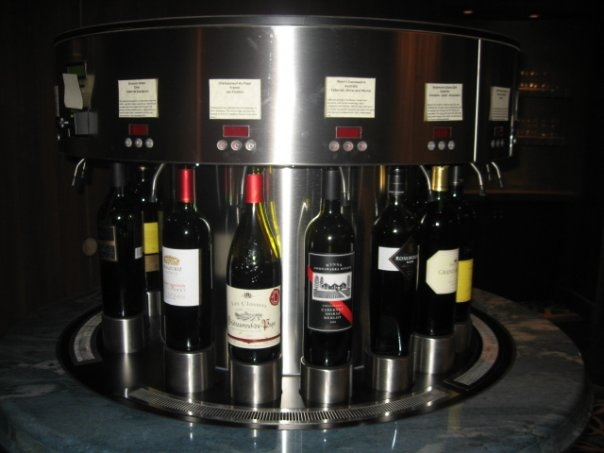 Wine Vending Machine Oasis of the Seas