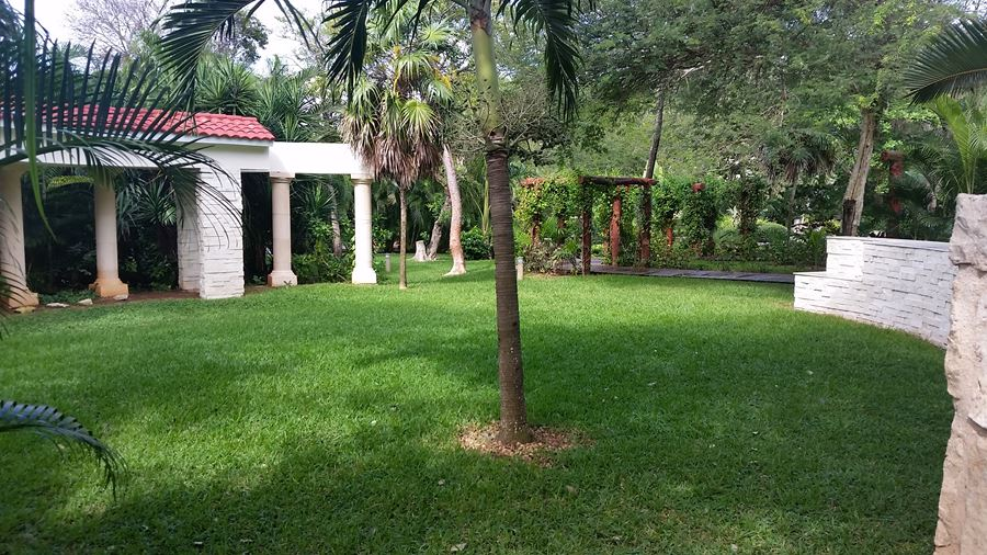 Garden area for wedding & small parties