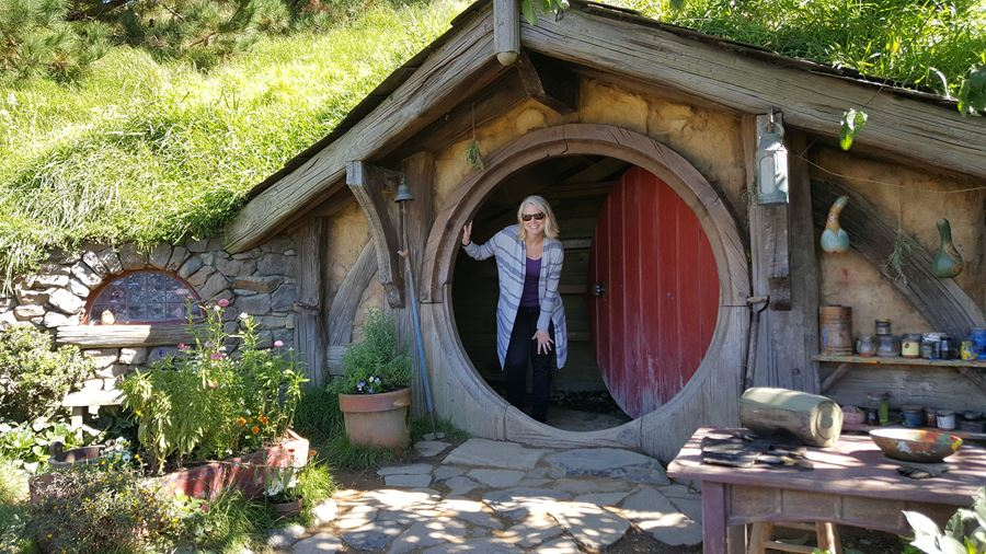 3rd times a charm when visiting Hobbiton!
