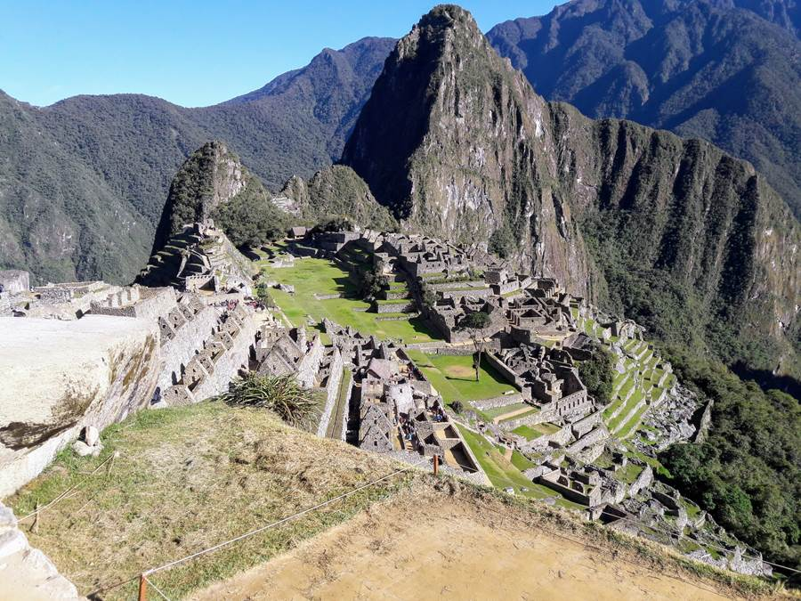 Beautiful Macchu Picchu Peru