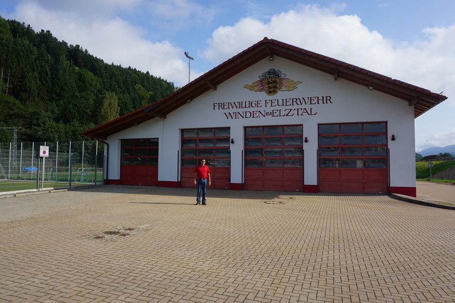 Retired Fire Chief still looks for the Firestation