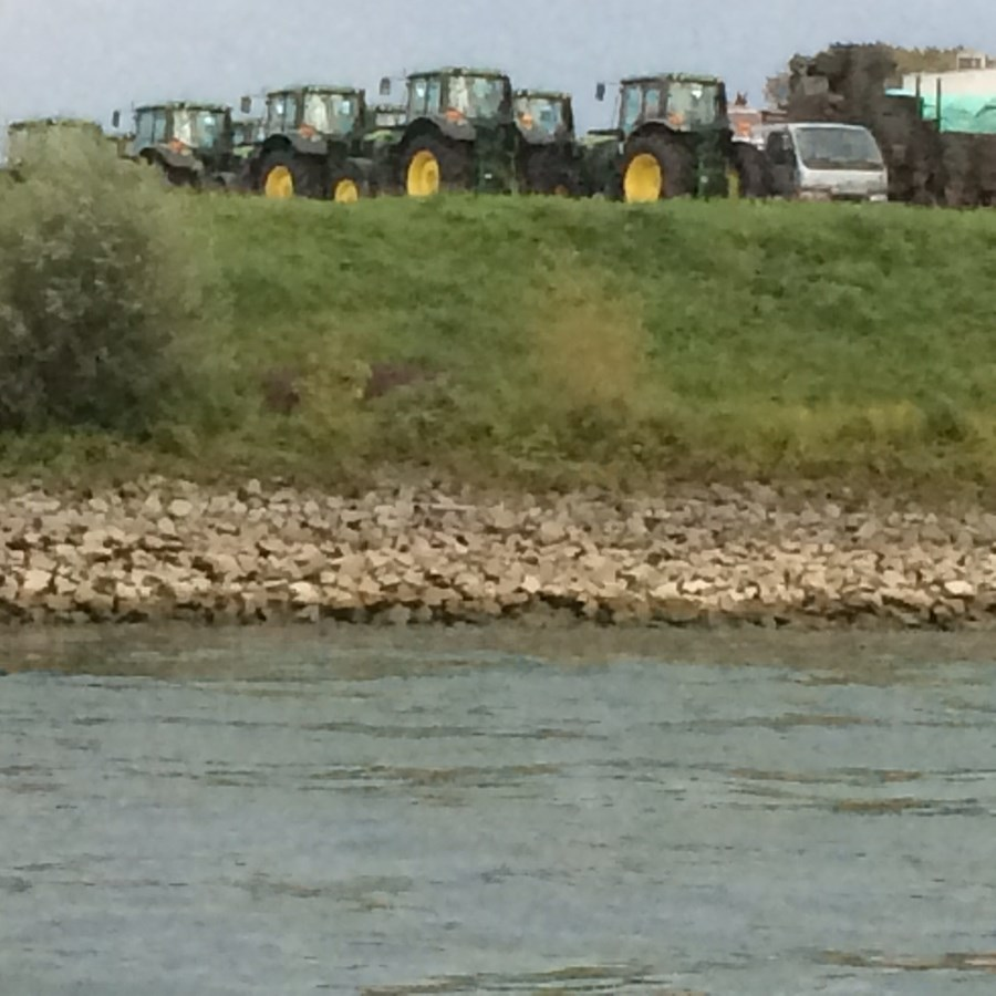They even have John Deere's in Germany