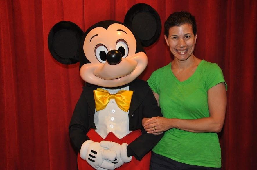 Walt Disney World meeting Mickey!