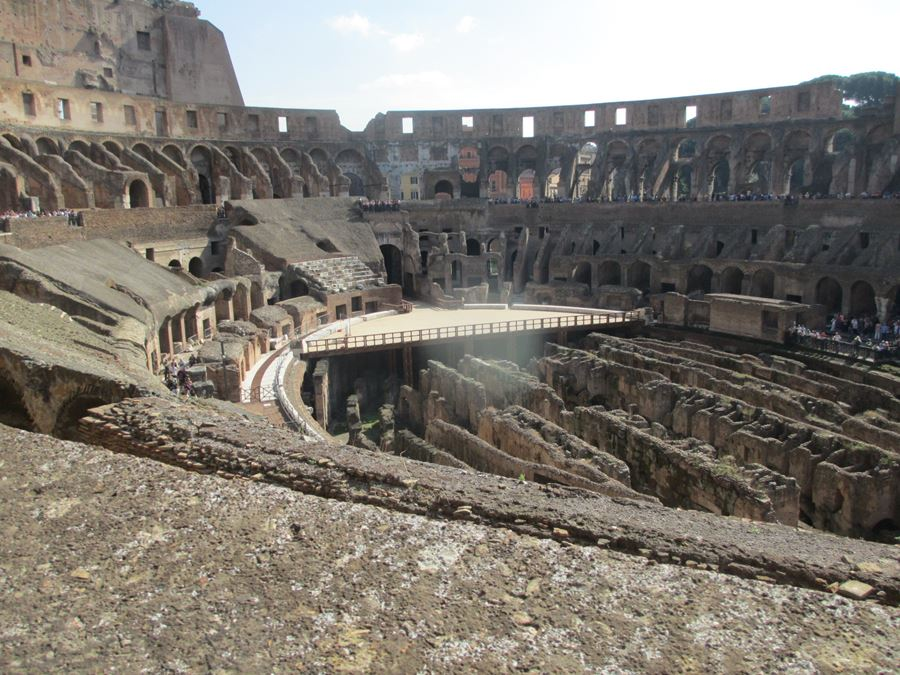 You can't go to Rome without touring the Colosseum