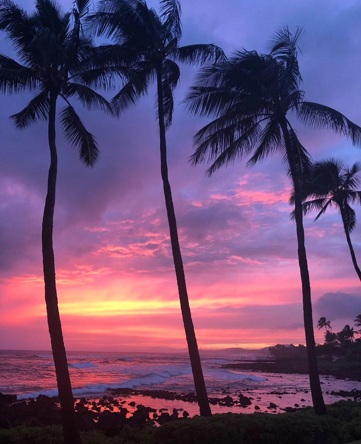 Luxury Hawaiian escapes seeking perfect sunsets
