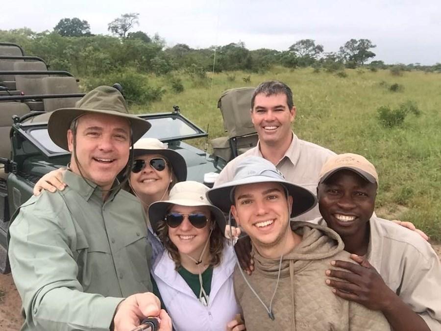 Family on safari at Singita Sabi Sands