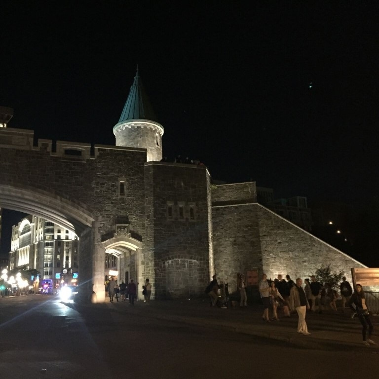 The walled city of Old Quebec