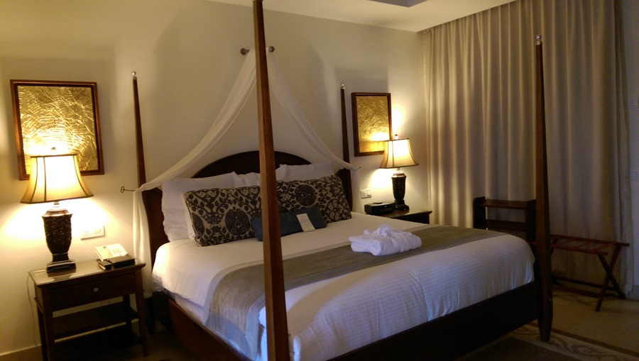 Luxurious room setting at Secrets St. James