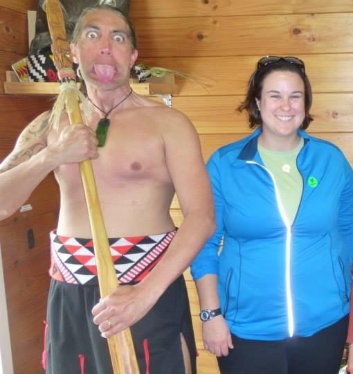 Immersing myself in the Maori culture