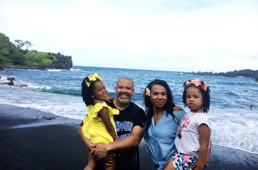 Road to Hana - Black Sand Beach