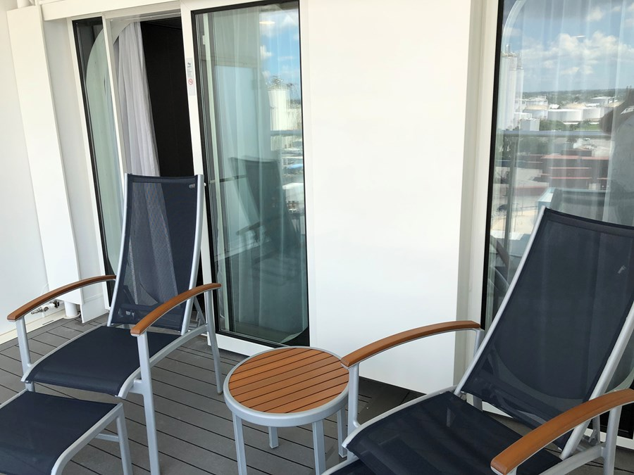 Balcony of a junior suite