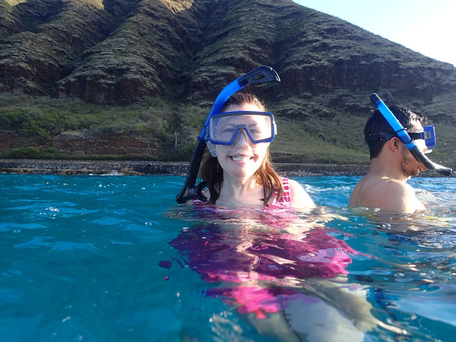 snorkelling tour in Oahu Hawaii