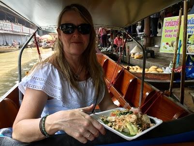 Floating Markets - fresh Pad Thai :)