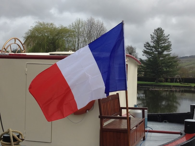 Canal barging is an authentic French experience